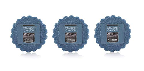 Yankee Candles Warm Luxe Cashmere Wax Melt Tarts Set of 3
