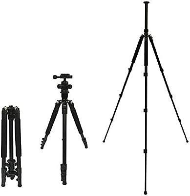 LWPCP Trípode, cámara réflex, cámara Profesional de Aluminio para ...