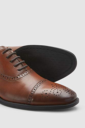 Next Oxfords With Toe Tipped Man Tan 8g8pr6a