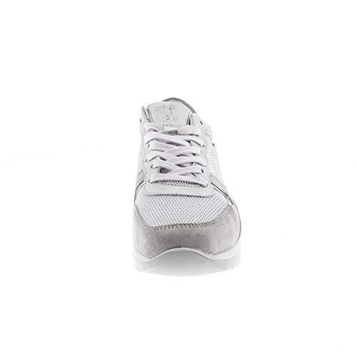 Argent argento Argenté perla 7771200 Chaussures Femmes Basses Perla argento x8zq1n4fw