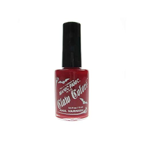 Claw Colours Flat Nail Polish - Blood Red