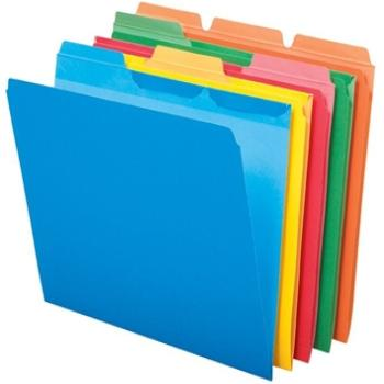 Amazon.com : Pendaflex Essentials File Folders, Letter Size, 1/3 ...