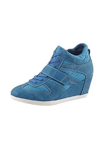 Botas Botines de City Walk azul - azul