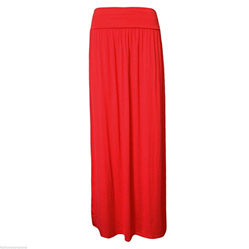 Fashion Lovers - Falda - para mujer Rosso