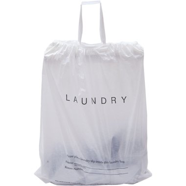 Amazon.com: IP Hotel Laundry Bags, 1.25 Mil Plastic with ...