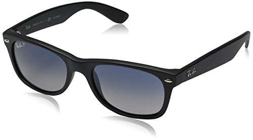 Ray-Ban 2132 901/76 Black 2132 Wayfarer Wayfarer Sunglasses Polarised Size - 2132 Ray Sizes Ban