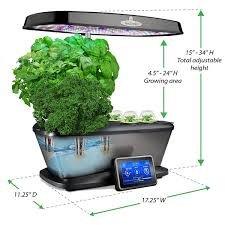Aerogarden Bounty Elite Wi-Fi Stainless Steel Indoor Garden with Cherry Tomato Kit by AeroGrow (Image #6)