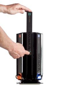 Döring N80 - Dispensador de cápsulas Nespresso, color negro mate: Amazon.es: Hogar