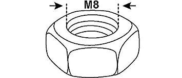 M6 x 30 mm Flachrundschrauben mit Vierkantansatz DIN 603 mit Muttern CONNEX Schlossschrauben Verzinkt Zn ISO 8677 75 St/ück