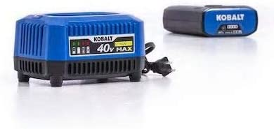 Kobalts 40-Volt Battery and Charger Kit 3.0Ah Battery and Charger