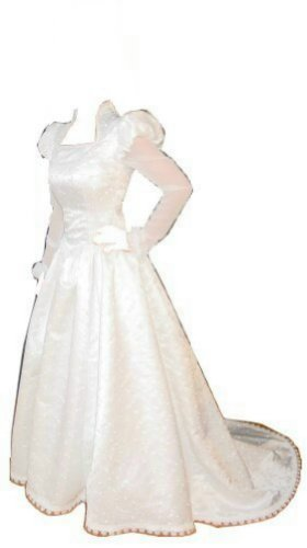 Anne Boleyn Wedding Dress Size 4