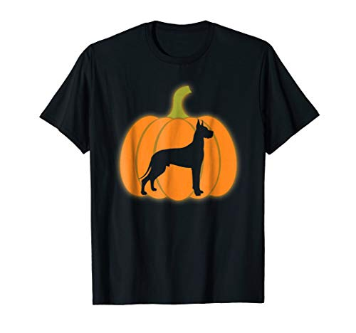 Pumpkin Lantern GREAT DANES Shirt Halloween Costume Gifts]()