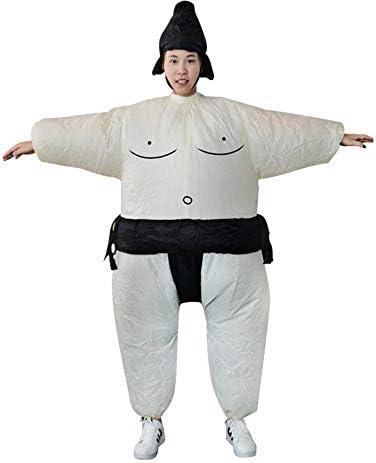 Vestido Inflable De Sumo Hombre Gordo Y Traje De Baño Enmascarado De La Suite De La Mujer Vestido Hinchable Blanco Y Negro Amazon Ca Home Kitchen