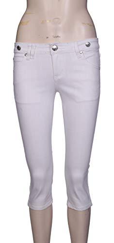 Bleu Shop Lets Capri Jeans Blanc Femme Bleu Shop xHxq6gUwf