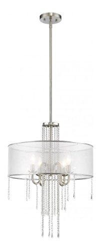 Siena Four Light Pendant in US - 4