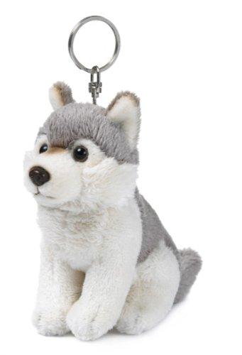 WWF Wolf plush stuffed animal Keyring or Handbag Charm Husky dog   Amazon.co.uk  Kitchen   Home 2e34719c3f37