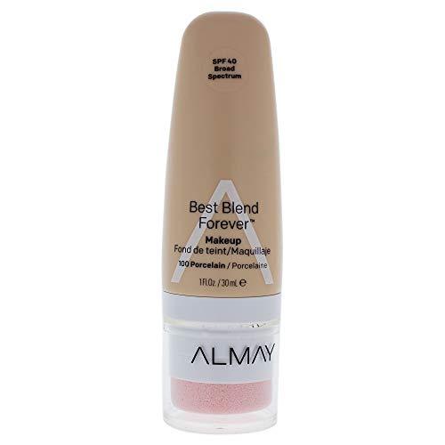 Almay Best Blend Forever Makeup Spf 40-100 Porcelain By Almay for Women - 1 Oz Foundation, 1 Oz