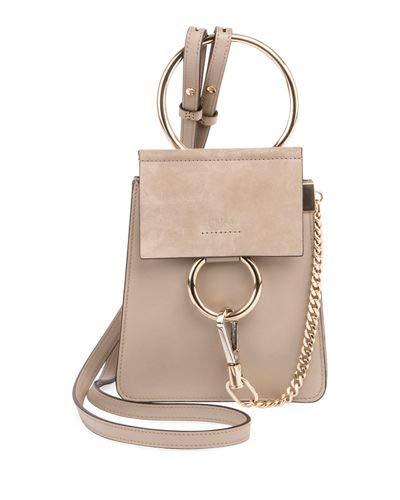 4a4283c34 Chloe Faye Small Leather Bracelet Bag made in Spain: Handbags: Amazon.com
