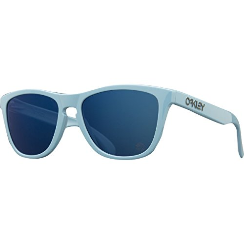 Oakley Men's Frogskins Polarized Blue/Ice Iridium Sunglasses