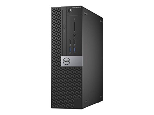 Dell OptiPlex Opti3040-2648SFF Small Desktop (Intel Core i5, 8GB RAM, 500GB HDD, Windows 7 Pro)