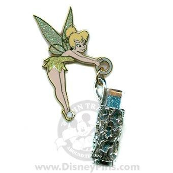 Disney Tinker Bell - Vial of Pixie Dust Pin