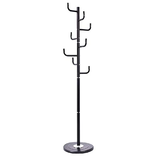 Hanger Tree Clothes Coat Rack Garment Bag Hooks Storage Handbag Stand Holder by Sgood (Image #6)