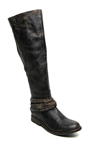 Bed|Stu Women's Eva Boot, Black Lux, 6 M US
