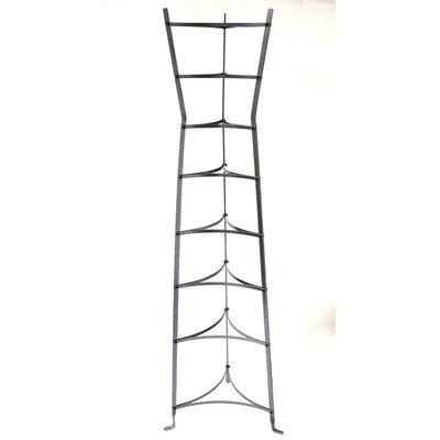 Enclume 8-Tier Gourmet Hourglass Cookware Stand, Assembled, Hammered Steel by Enclume