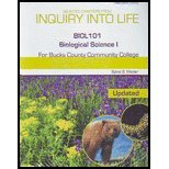 Inquiry Into Life, BIOL 101, Biological science I, for Bucks County Community College
