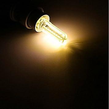 Welsun 1 pcs BA15D 6W 80x5730SMD 600 LM Warm White//Cool White T Decorative Bi-pin Lights AC//180-240V//110-120V Light Source Color : White, Voltage : 100-120V