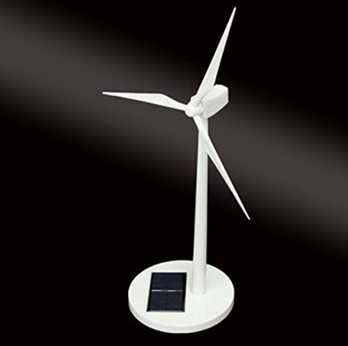 New Science Toy Desktop Model-Solar Powered Windmills/Wind Turbine & ABS plastics by (Lovelace Top)