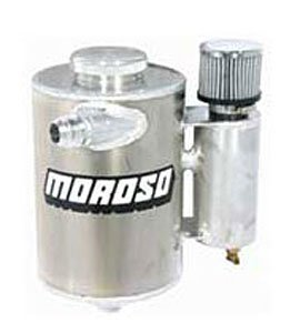 Moroso 22682 Drag Dry Sump Breather Tank with 5 Quart Capacity