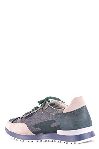L4K3 Herren MCBI473006O Multicolour Wildleder Sneakers