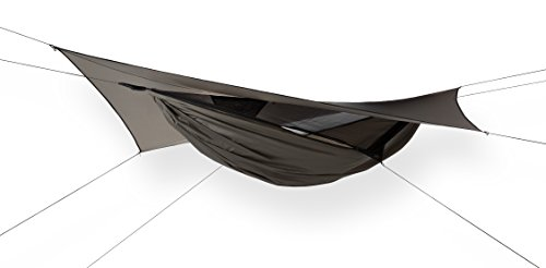 Hennessy Hammock Ultralite Backpacker Zip - Lightweight Camping and Survival Shelter for Hikers, Boy Scouts, Preppers, Soldiers, Military Units, Explorers, and Scientific (4 Expedition Weight Zip)