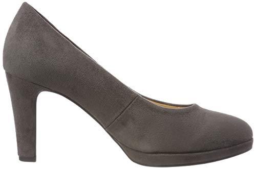 Fashion Gris Escarpins dark Femme 49 Gabor Shoes grey xBWqnxpw