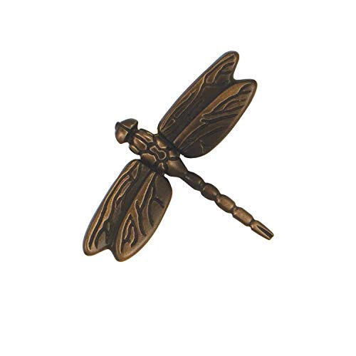 Dragonfly in Flight Doorbell Ringer - Oiled Bronze
