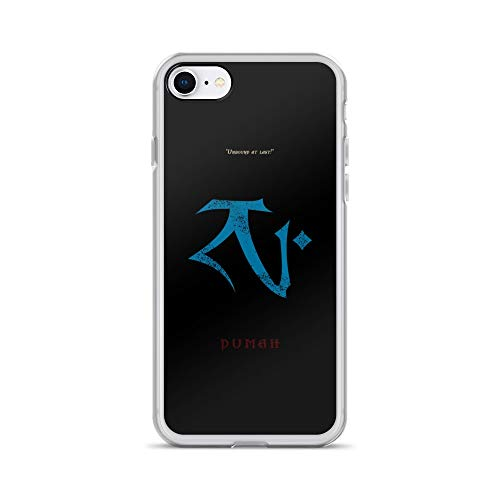 iPhone 7/8 Case Anti-Scratch Gamer Video Game Transparent Cases Cover Dumah Gaming Computer Crystal Clear