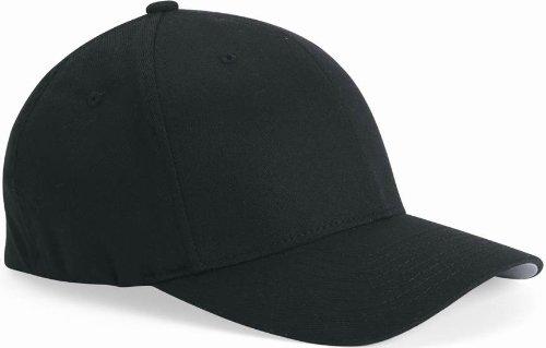 675a460c09c3b Flexfit Structured Twill Cap. 6277 - Black - XL 2XL  Amazon.ca ...