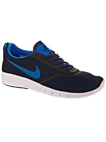 Nike SB Lunar Paul Rodriguez 9, Scarpe da Ginnastica Unisex – Adulto Nero/Blu/Bianco (Obsidian/Photo Blue-white)
