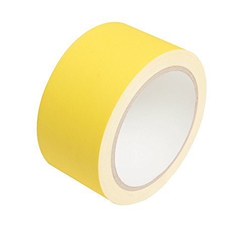 New:Professional Grade Gaffer Tape 2 x 30 Yards(Yellow) 11 mils for Photography, Filming Backdrop, Production Equipment, Repair, Easy to Tear,Matte Non-Reflective Finish and Leaves No Sticky Residue.