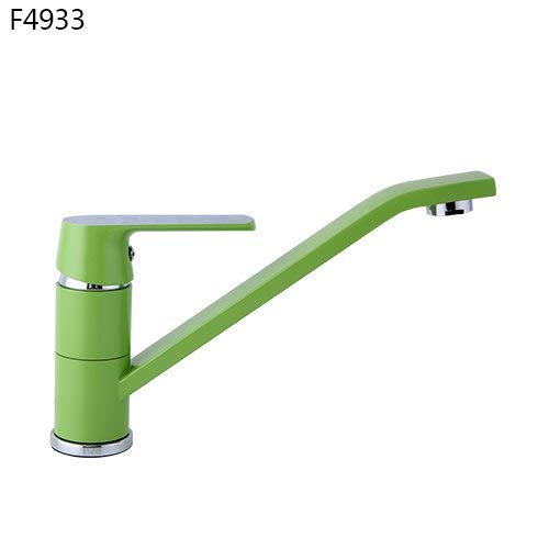 4933 U-Enjoy Chandelier Style Kitchen Modern Sink Bath Top Quality Basin Faucet Faucet Cold and Water Taps Green Hot Bathroom Bathtub Shower Faucet Mixer H33 Free Shipping [2433]
