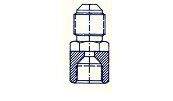 REDUCCION SAE MACHO 5//16 SAE HEMBRA 1//4 LATON precio//ud 21/% IVA INCLUIDO ENVIO GRATIS-PEDIDO MINIMO PRODUCTOS RIKFRA 96 S.L 18 EUROS