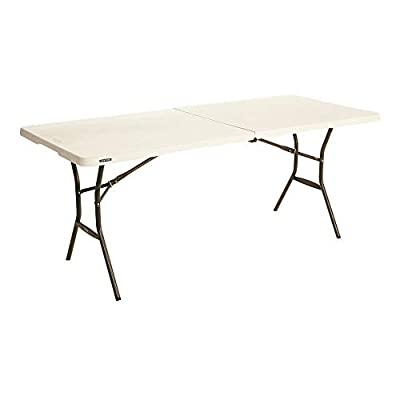 Lifetime Fold in Half Light Commercial Table