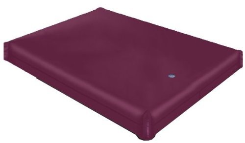 Genesis Series Free Flow Full Motion Basic Waterbed Bundle Package Mattress Cal King (72x84)