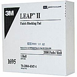 3M1695 Round Leap III Pad 24 mm (roll of 2,000)