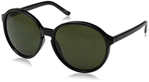 Electric Womens Riot Round Sunglasses - Gloss Black - 59 mm
