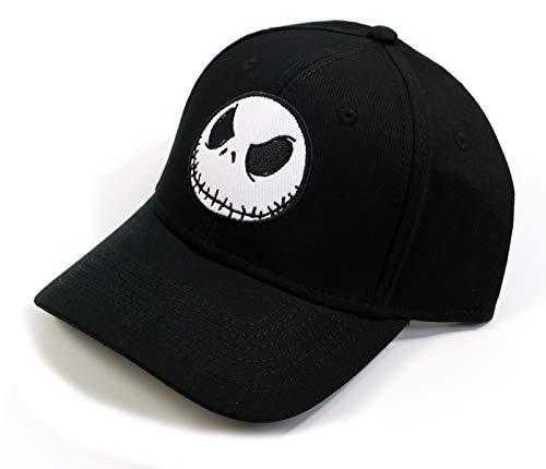 Tim Burton's Nightmare Before Christmas Boyfriend Jack Skellington Baseball Cap Hat Black -