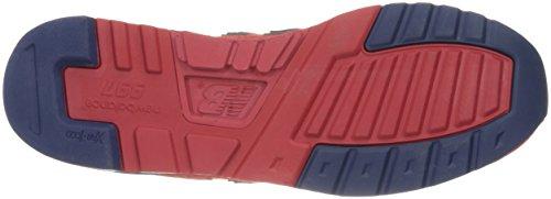 New Balance Mens 997 Enduring Purpose-Made USA Fashion Sneaker Red/Navy MXru2