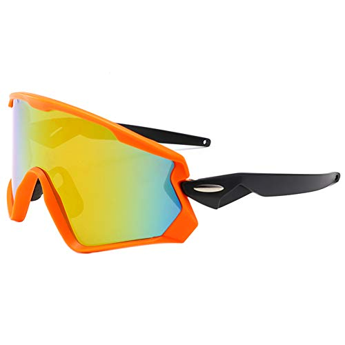 ieasysexy Mens Polarized Sunglasses Outdoor Sports Windproof Glasses Eyes Protection Eyewear for Ski Golf Cycling Running(Style#3)