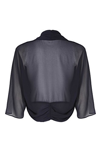 Confortable Bolero Originals Roman Tulle En Bleu Noir pBnqw
